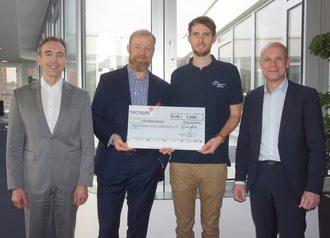 28 January 2016: Tecosim donates 5,000 euros to Engineers without Borders