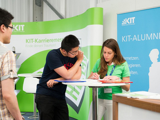 1 June 2016: TECOSIM appearing at KIT job fair
