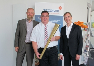 State Secretary for Europe, Mark Weinmeister, visits TECOSIM